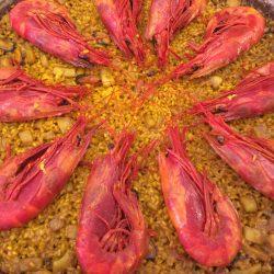 Paella de Rojos arroceria maribel