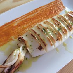 calamar plancha arroceria maribel